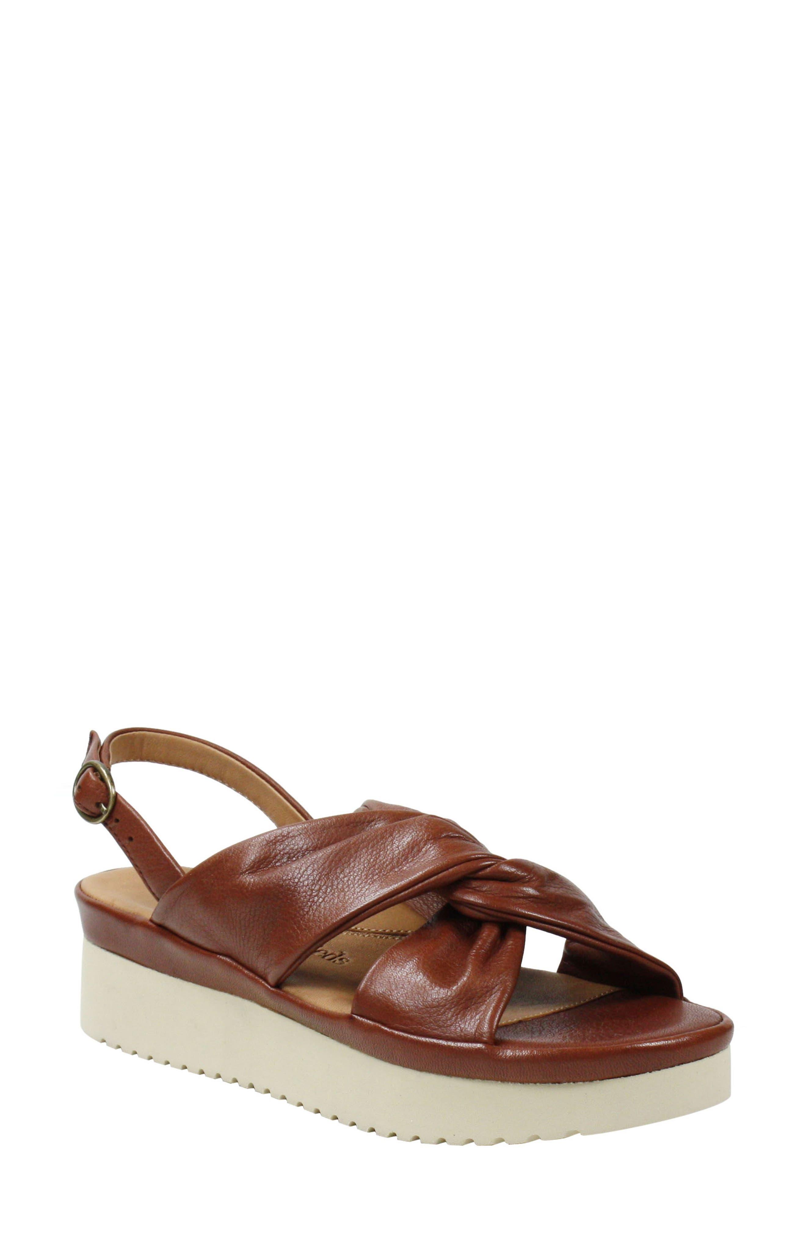 Women's L'Amour De Pieds Amiens Slingback Platform Sandal