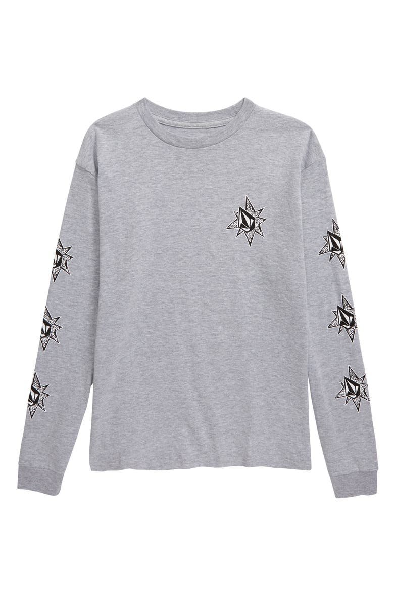 VOLCOM Family Stones Graphic Long Sleeve T-Shirt, Main, color, 020