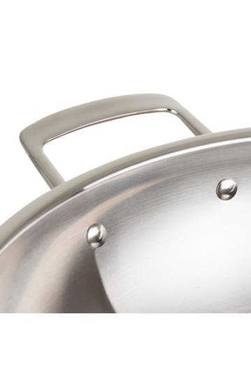 Viking 12 Copper Clad 3 Ply Mirror Wok Hautelook
