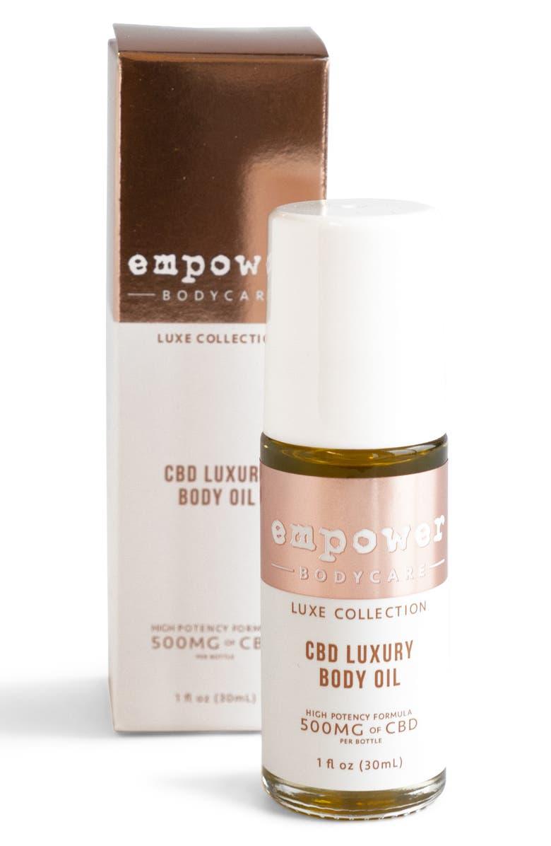 EMPOWER CBD Luxury Body Oil, Main, color, NO COLOR