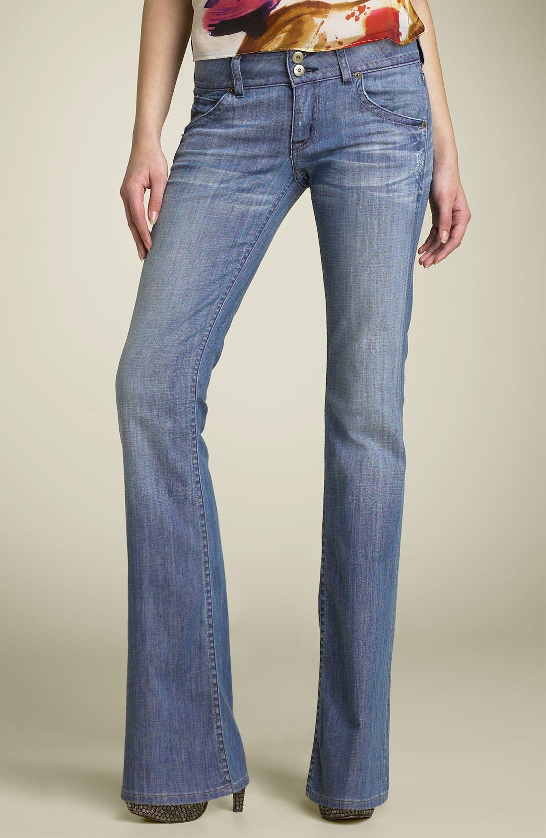 ,                             Signature Flap Pocket Bootcut Jeans,                             Main thumbnail 76, color,                             478