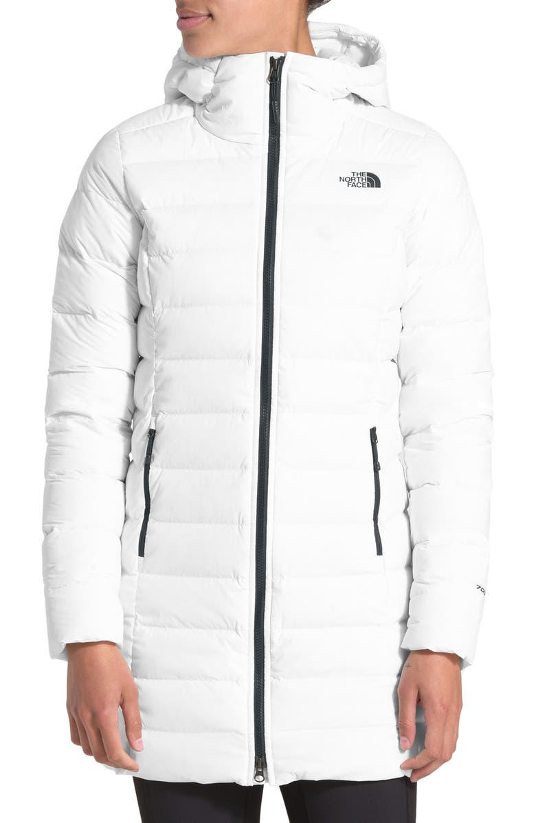 THE NORTH FACE 700 Fill Power Stretch Down Parka, Main, color, TNF WHITE