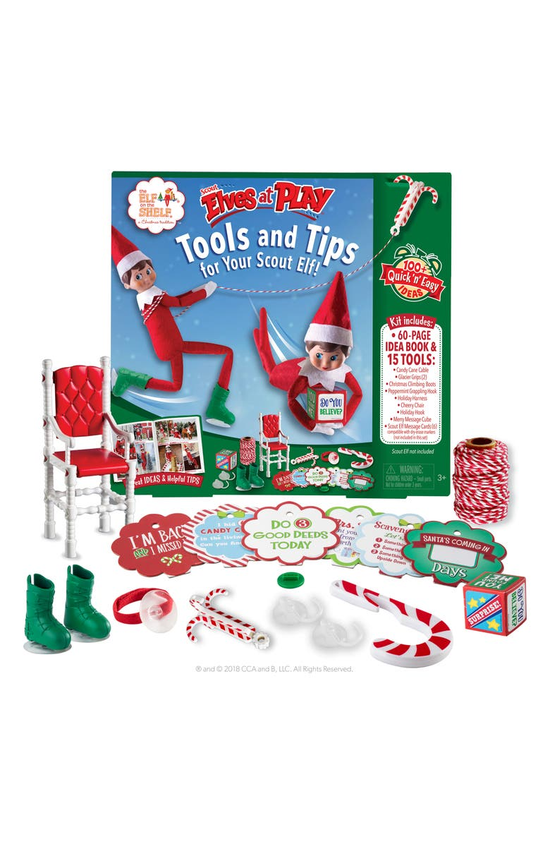 ELF ON THE SHELF <sup>®</sup> Elves at Play Tools & Tips Activity Play Kit, Main, color, 960