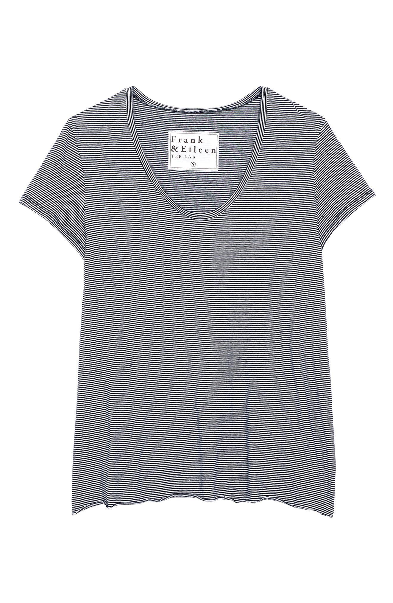 Image of FRANK & EILEEN Essential Scoop Neck T-Shirt