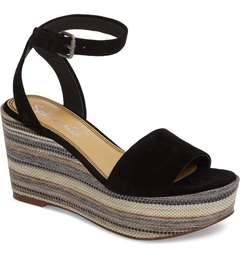 92cac929a7 Splendid Felix Platform Wedge Sandal (Women) | Nordstrom