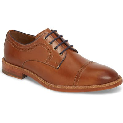 J & m 1850 Chambliss Cap Toe Derby, Brown
