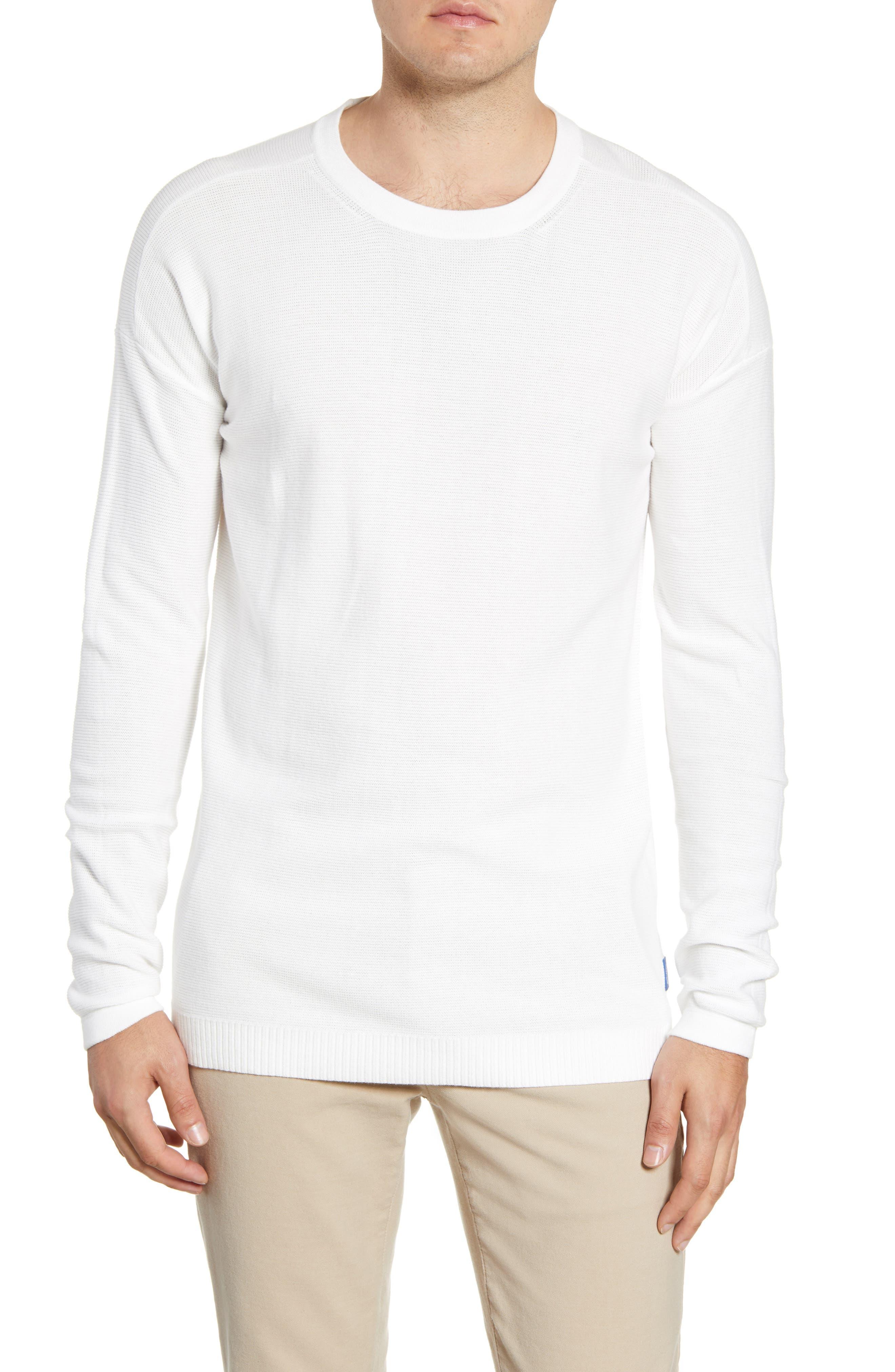 Scotch & Soda Club Nomade Sweater, White