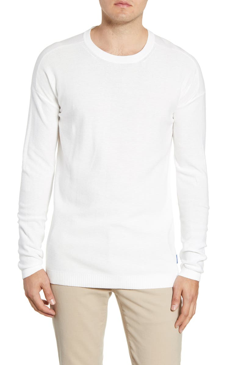 SCOTCH & SODA Club Nomade Sweater, Main, color, OFF WHITE