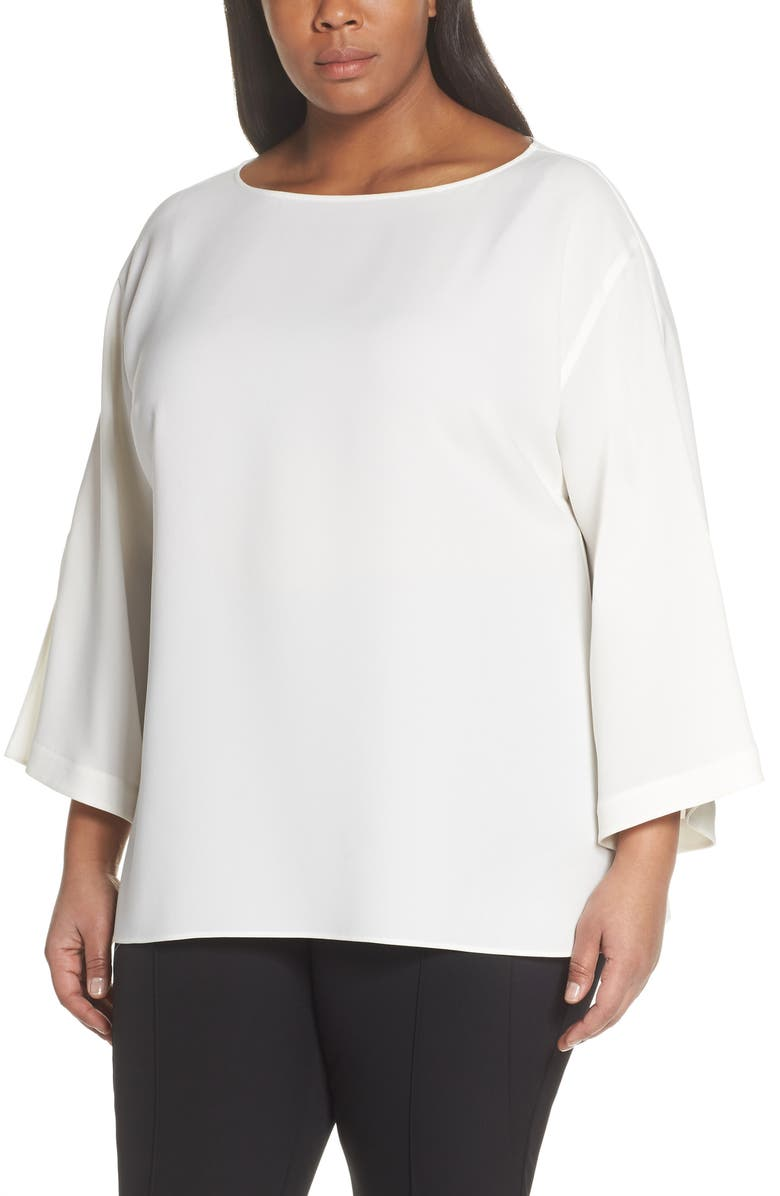 LAFAYETTE 148 NEW YORK Reanna Blouse, Main, color, 141