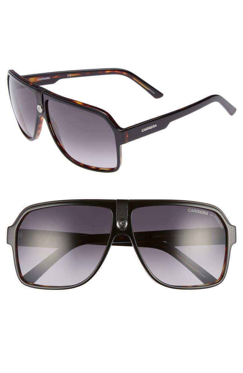 c3942ff2c26c Carrera 62mm Gradient Aviator Sunglasses, Main, color, 007