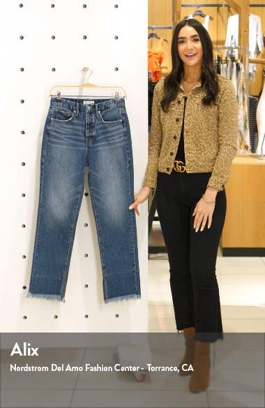 Good Boy Frayed Hem Boyfriend Jeans, sales video thumbnail