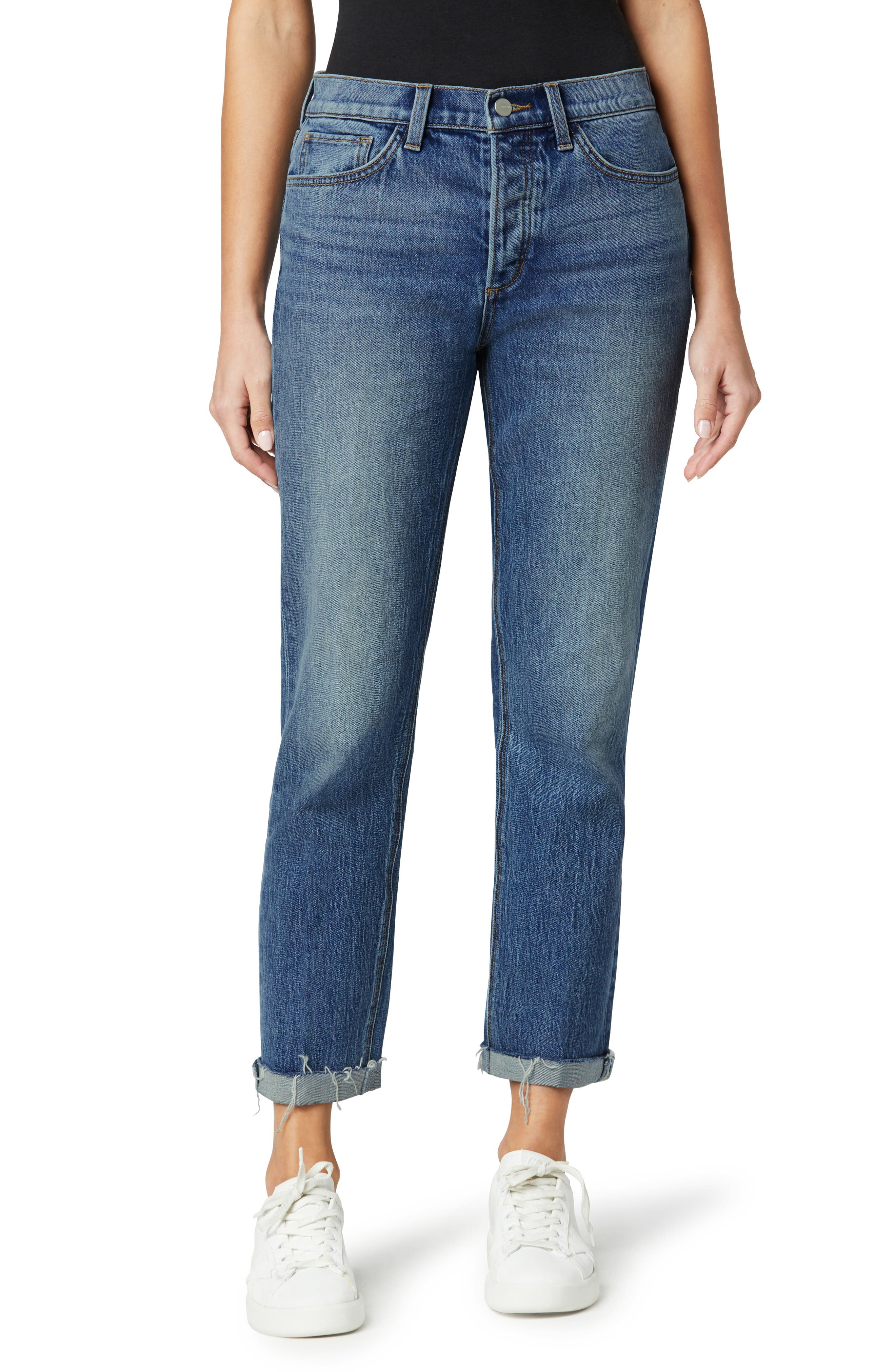 Women's Joes' The Scout High Waist Roll Cuff Straight Leg Jeans