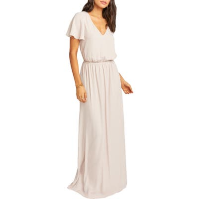 Show Me Your Mumu Michelle Maxi Dress, Beige