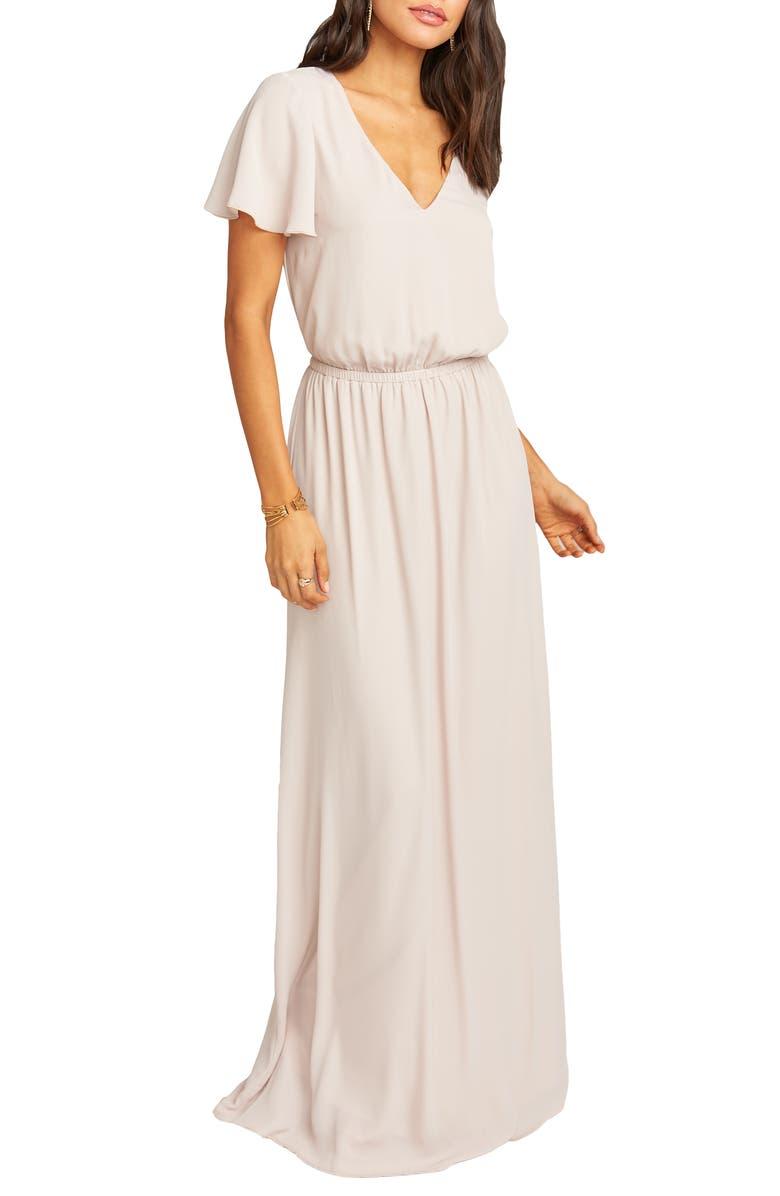 SHOW ME YOUR MUMU Michelle Maxi Dress, Main, color, SHOW ME THE RING