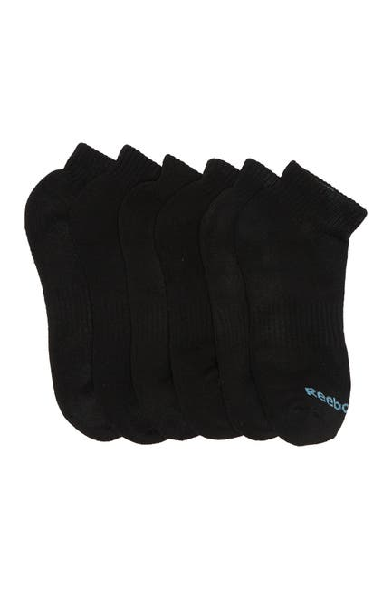 Image of Reebok Quarter Basic Socks - Pack of 6