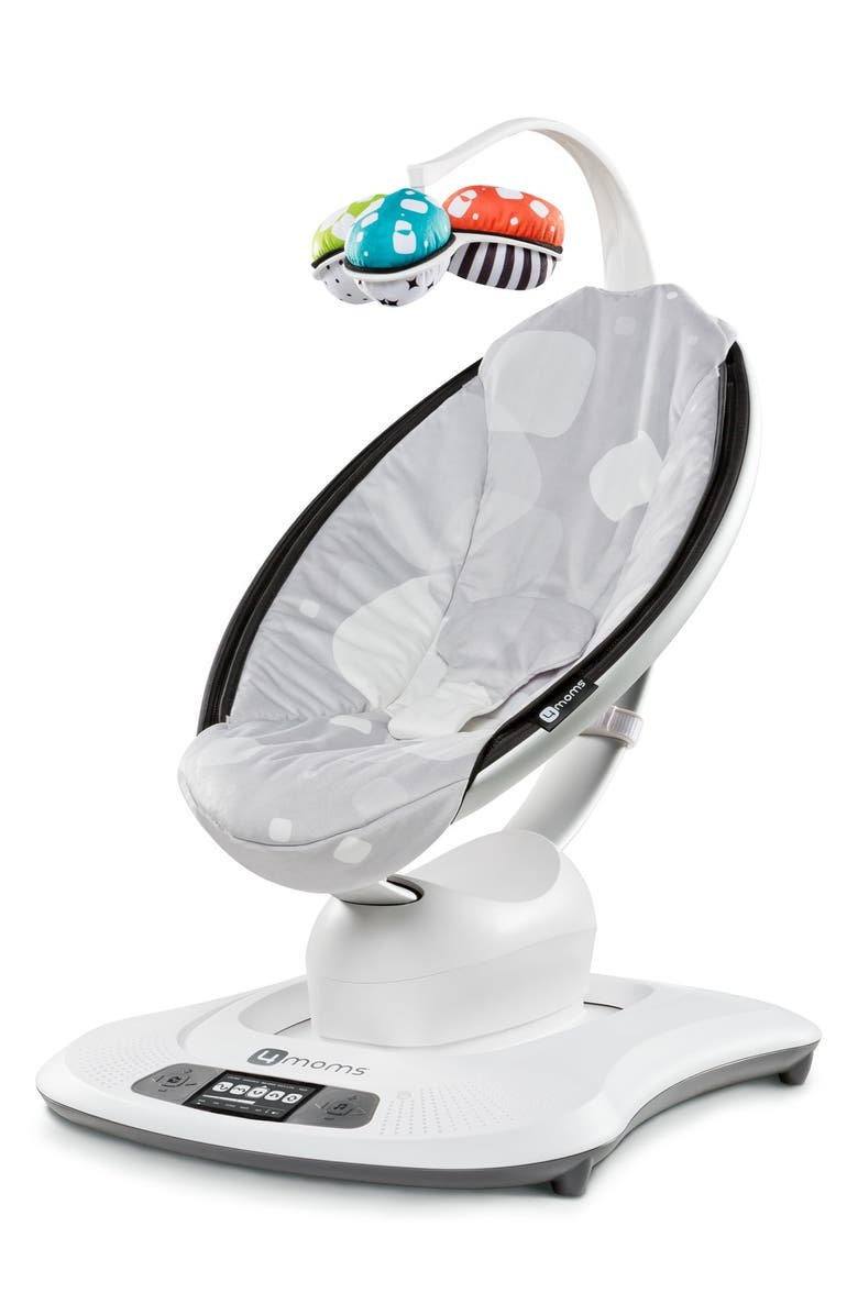 4MOMS 'Plush mamaRoo' Bouncer Seat, Main, color, 040