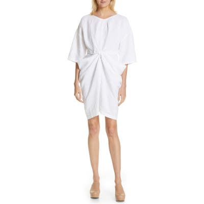 Rachel Comey Scope Linen Minidress, White