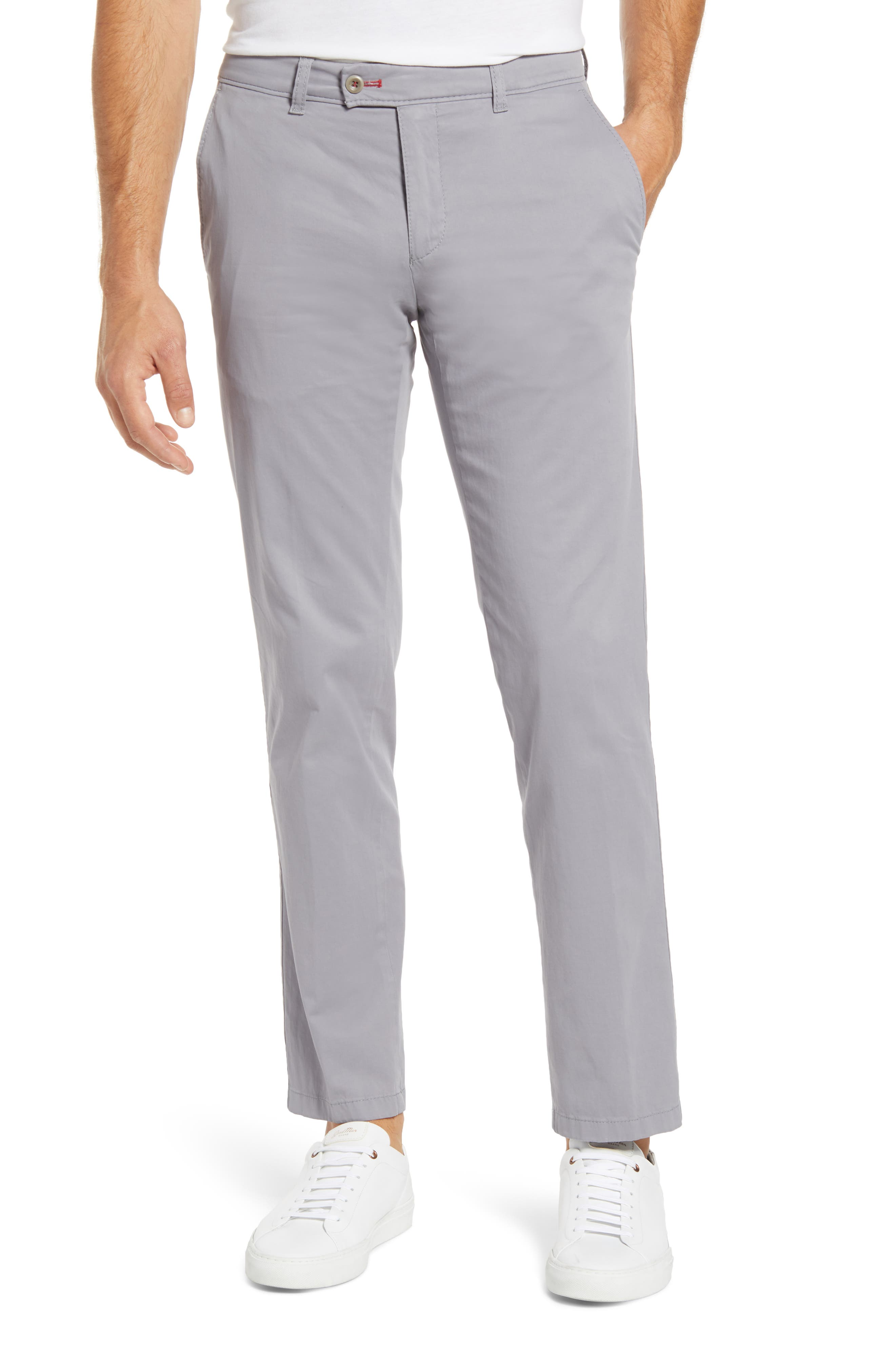 Evans Flat Front Chinos