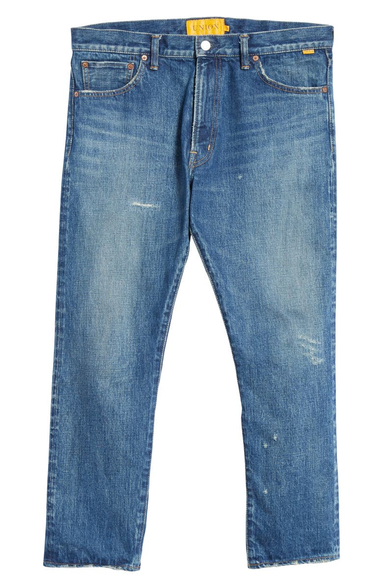 UNION LOS ANGELES Distressed Jeans, Main, color, DENIM