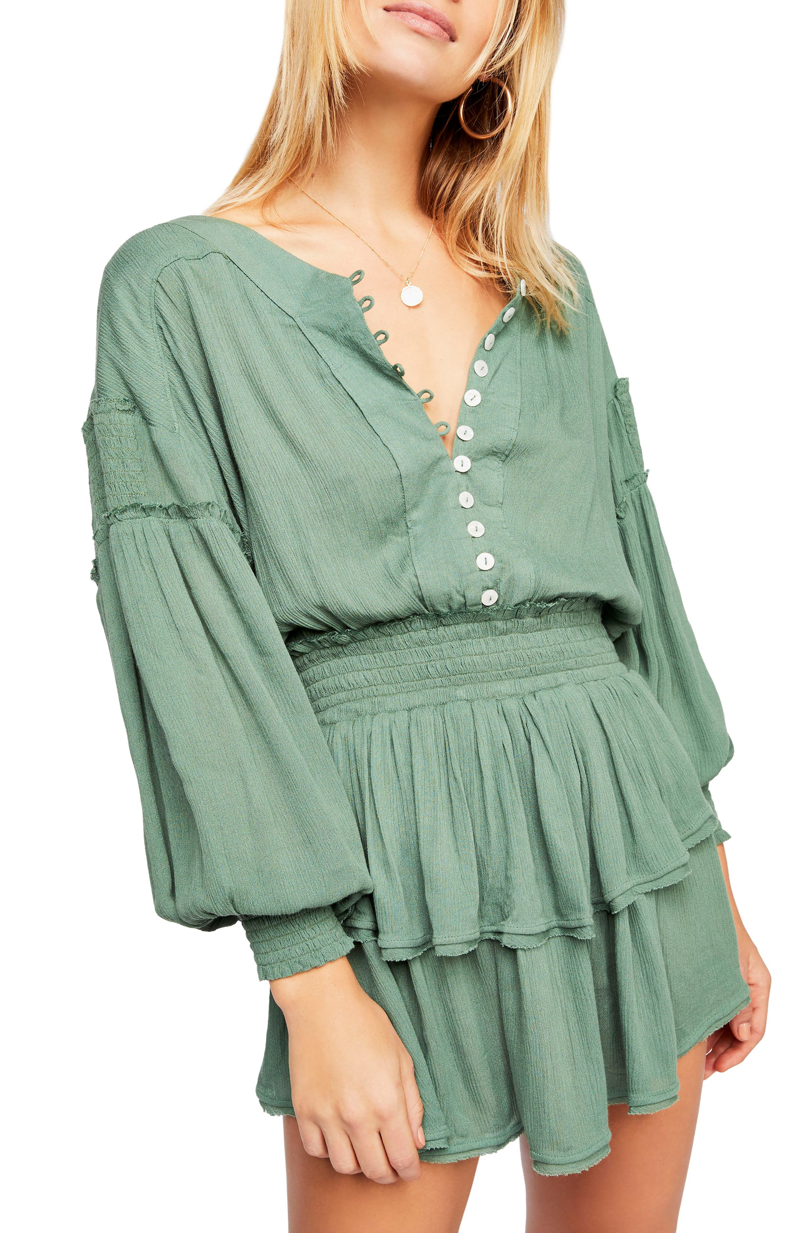 Endless Summer By Free People The Romy Minidress, Green