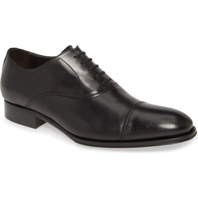To Boot New York Brandon Ii Cap Toe Oxford- Black