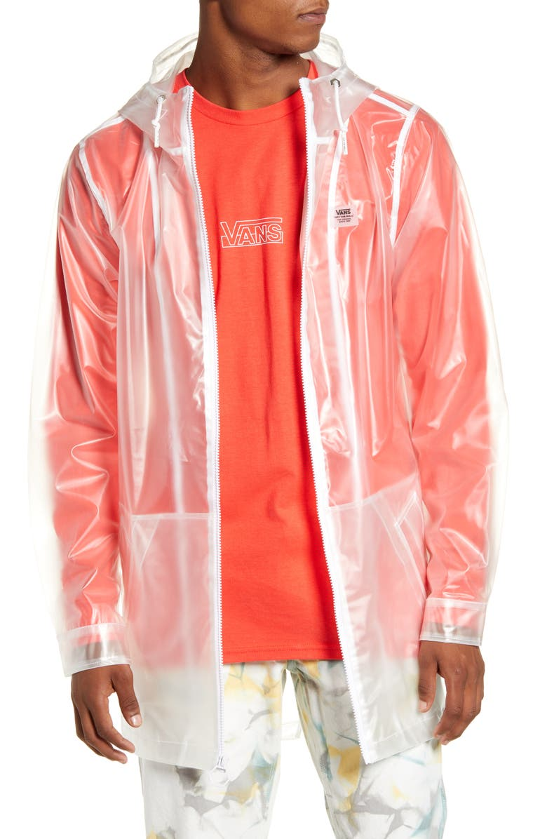 VANS Westwind Clear Hooded Jacket, Main, color, 100
