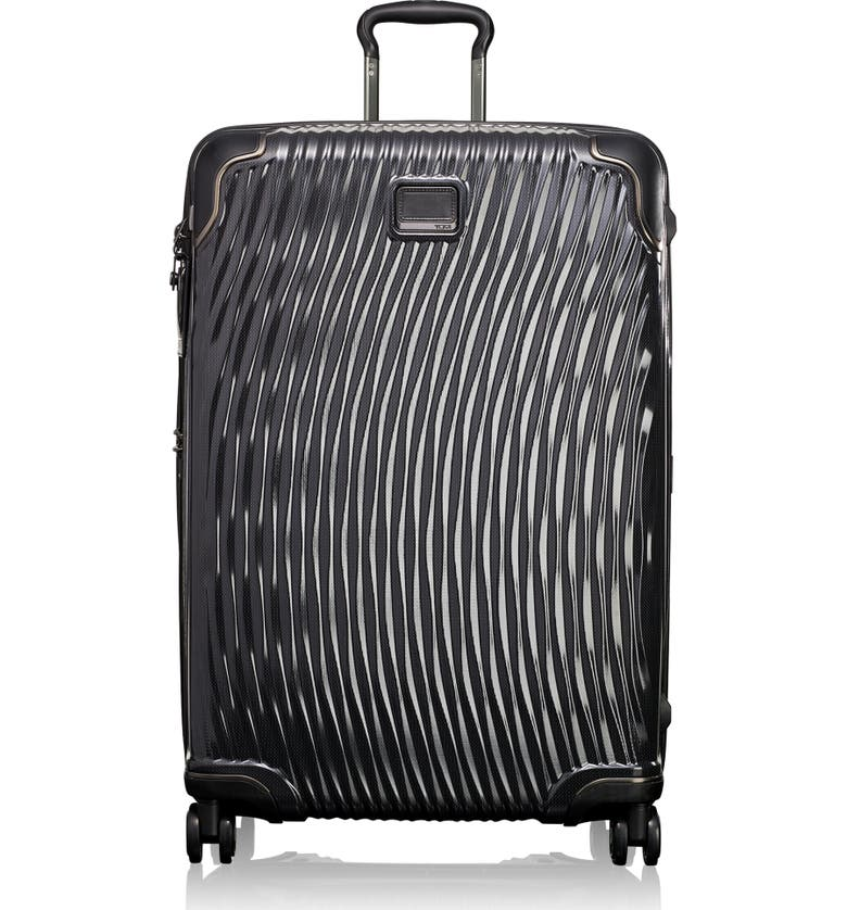 TUMI Latitude 30-Inch Extended Trip Rolling Suitcase, Main, color, BLACK
