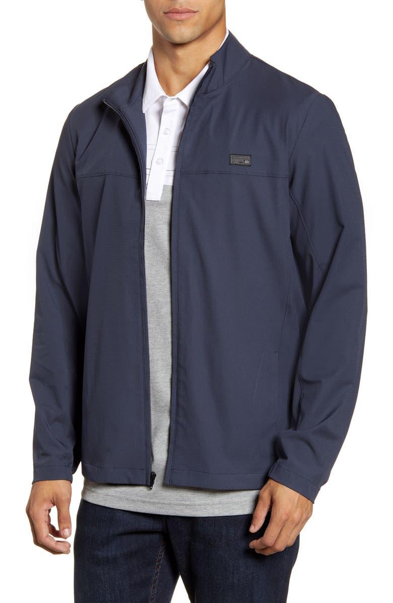 TRAVISMATHEW Crystal Cove Zip Jacket, Main, color, NAVY