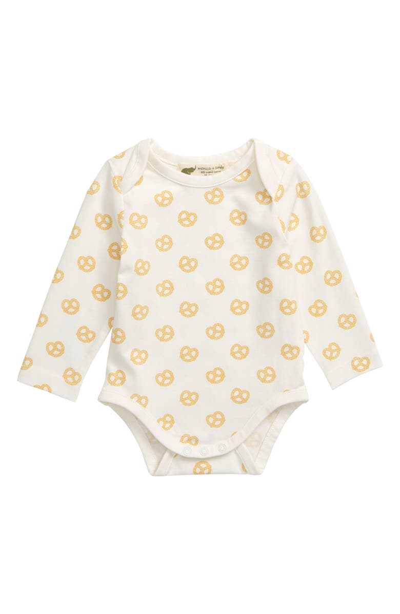 MONICA + ANDY Jack & Jill Bodysuit, Main, color, PRETZEL TWIST
