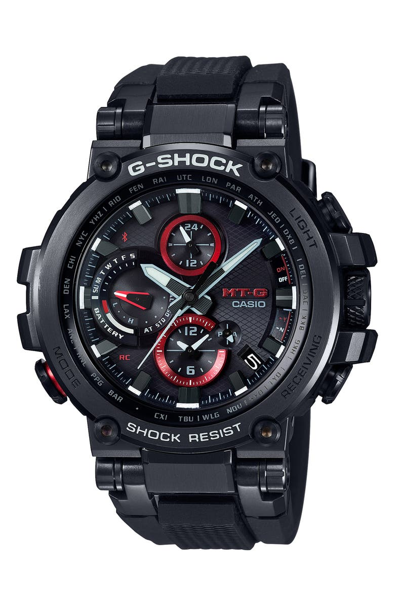 G-SHOCK BABY-G G-Shock MT-G Watch, 52mm, Main, color, 001