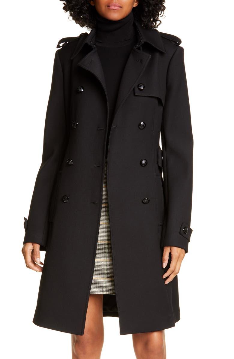 A.L.C. Baldwin Coat, Main, color, BLACK