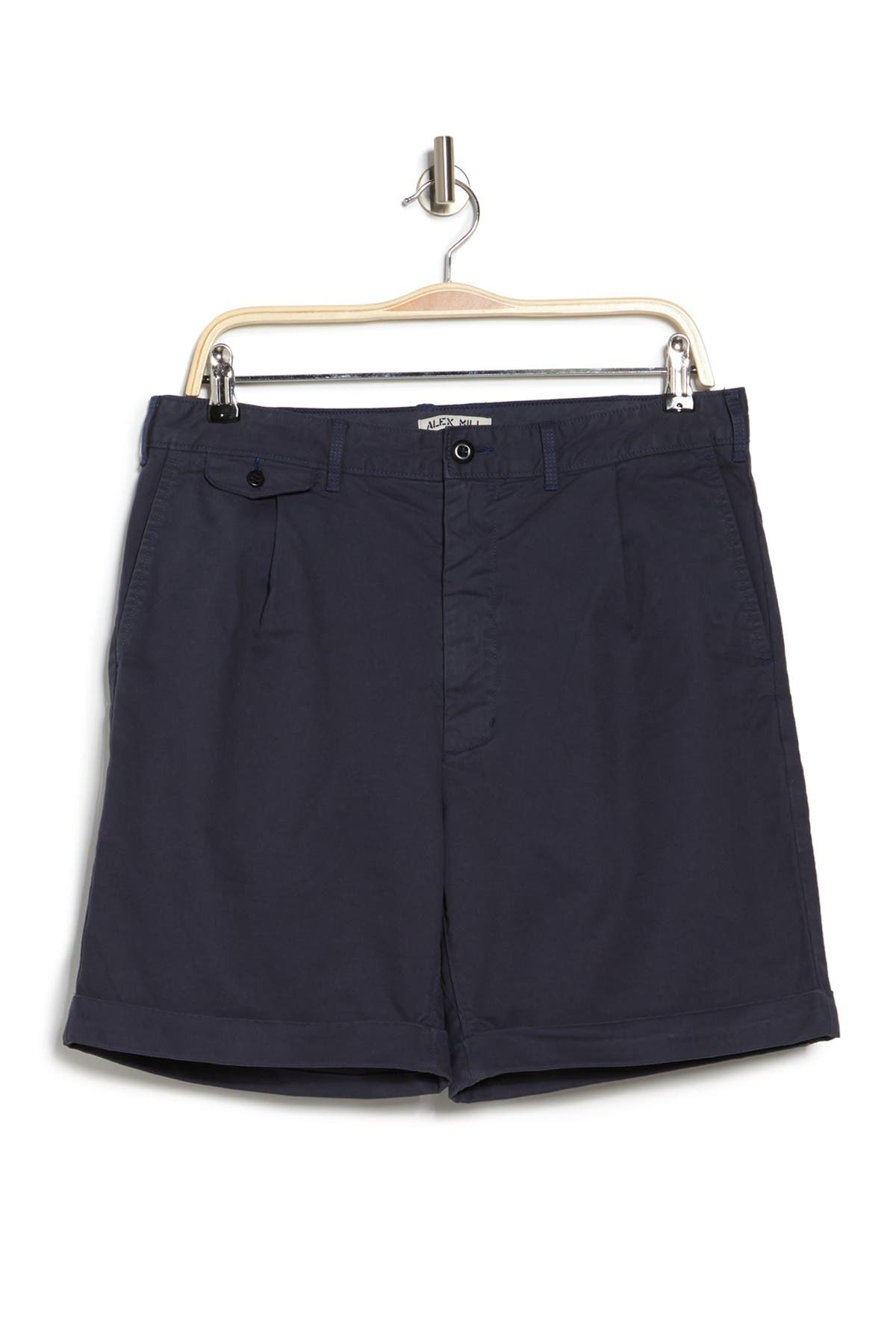 Alex Mill PLEATED CHINO SHORTS