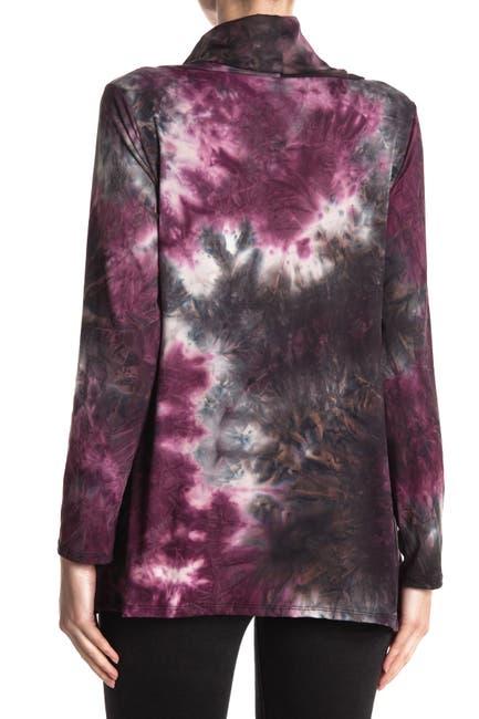 Image of Forgotten Grace Tie Dye Cowl Neck Sweater