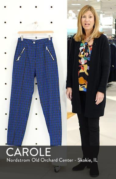 Plaid High Waist Skinny Pants, sales video thumbnail