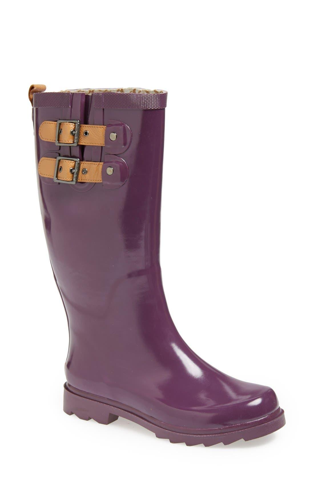 ,                             'Top Solid' Rain Boot,                             Main thumbnail 105, color,                             520