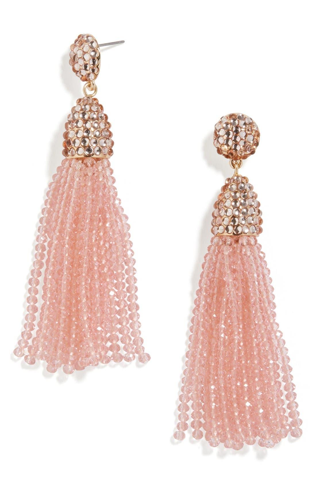 ,                             'Nynette' Tassel Drop Earrings,                             Main thumbnail 13, color,                             689