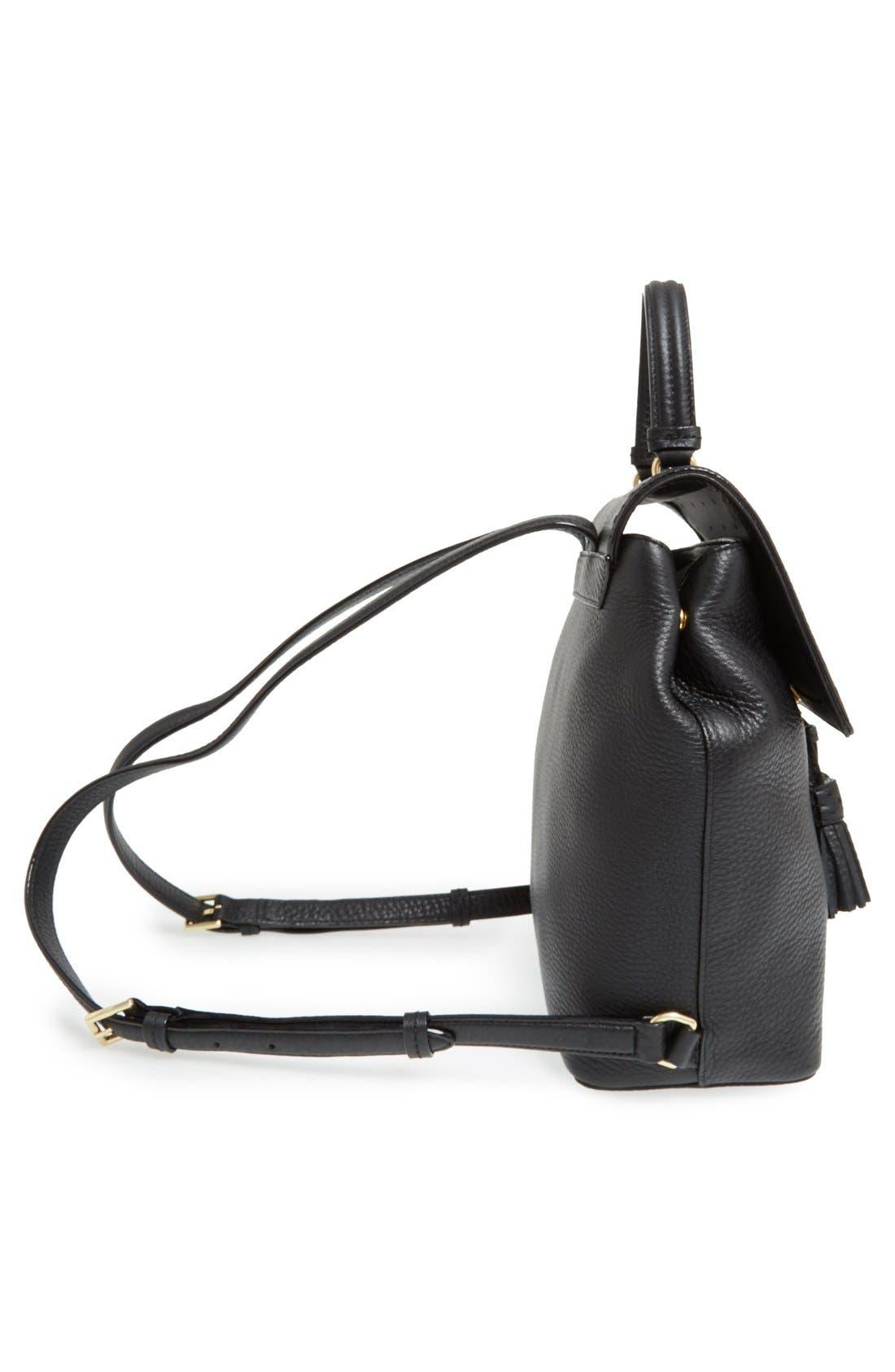 ,                             'james street - teba' leather backpack,                             Alternate thumbnail 2, color,                             001