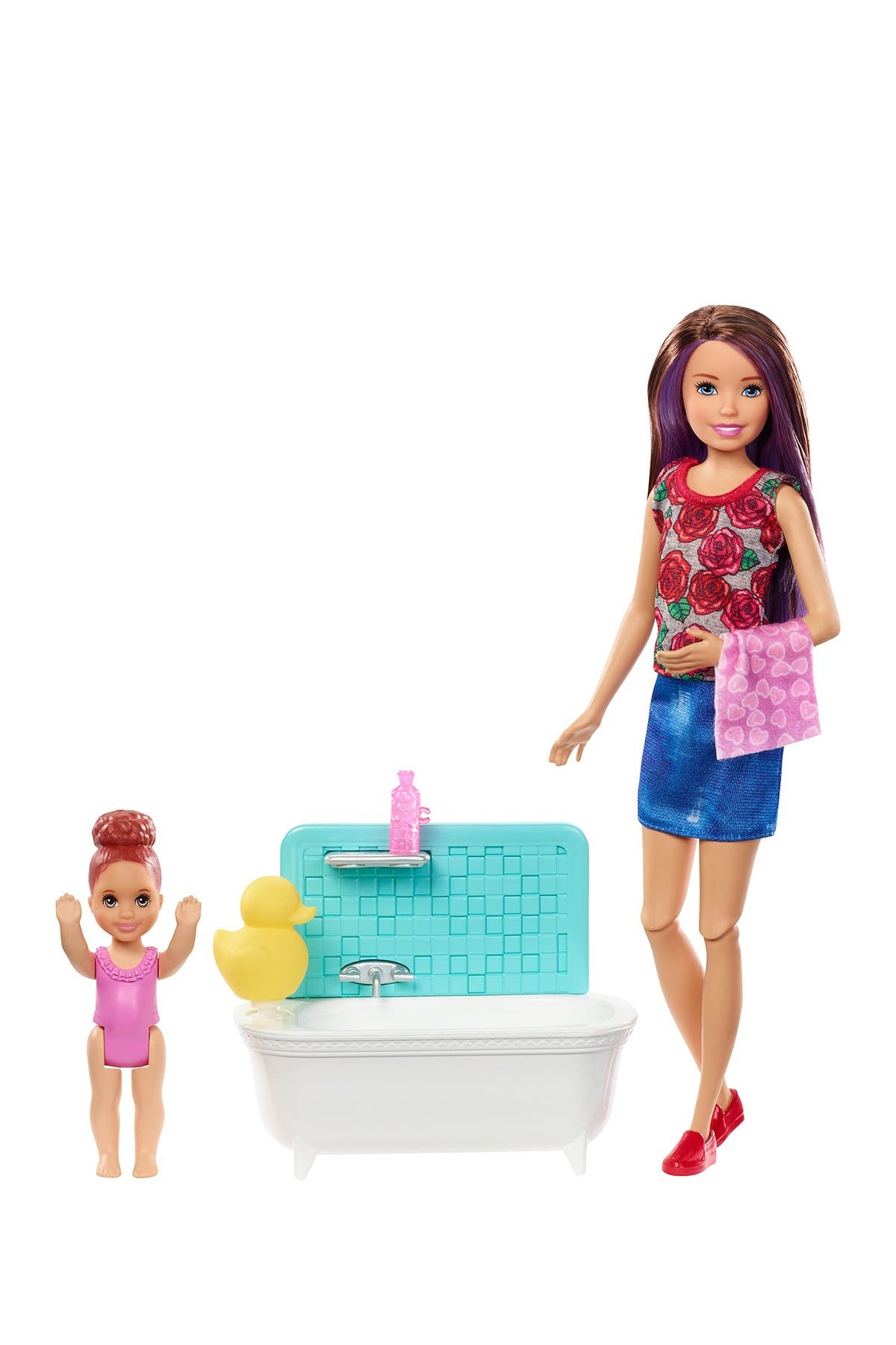 Image of Mattel Barbie(R) Skipper(R) Babysitters INC(TM) Dolls & Playset