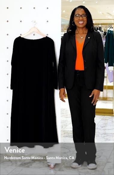 Bateau Neck Long Sleeve Midi Dress, sales video thumbnail