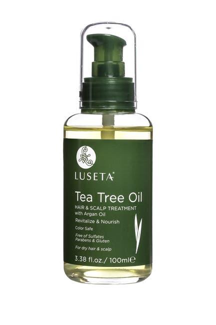 Image of Luseta Beauty Tea Tree Oil Hair & Scalp Treatment with Argan Oil for Dry Hair & Scalp - 3.38 oz.