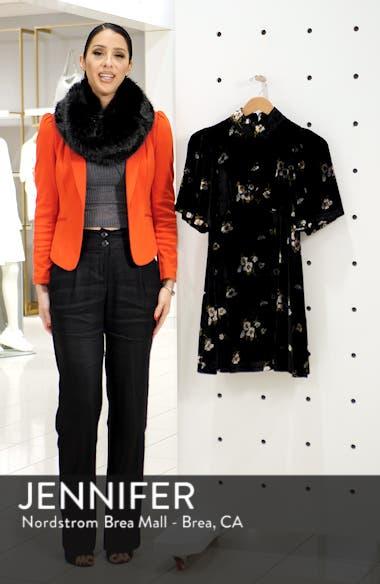 Be My Baby Velvet Dress, sales video thumbnail