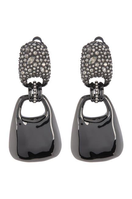Image of Alexis Bittar Crystal Encrusted Drop Earrings