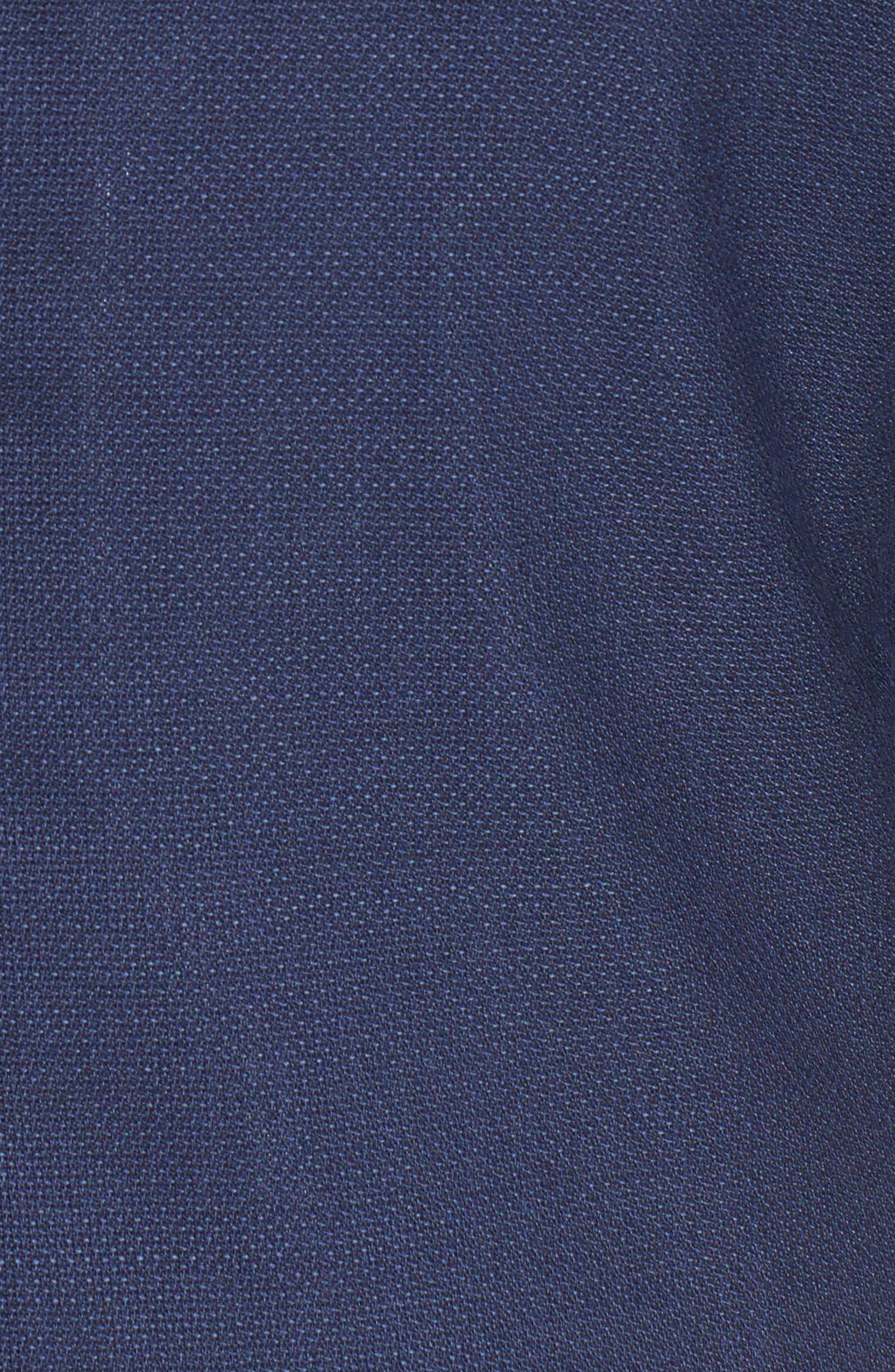,                             Slim Fit Wool Unconstructed Sport Coat,                             Alternate thumbnail 6, color,                             BLUE