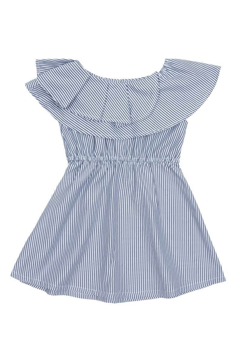 HABITUAL Girl Lou Stripe Dress, Main, color, 400