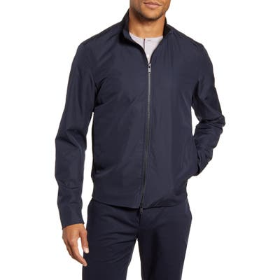Theory Lewis Packable Water Repellent Jacket, Blue