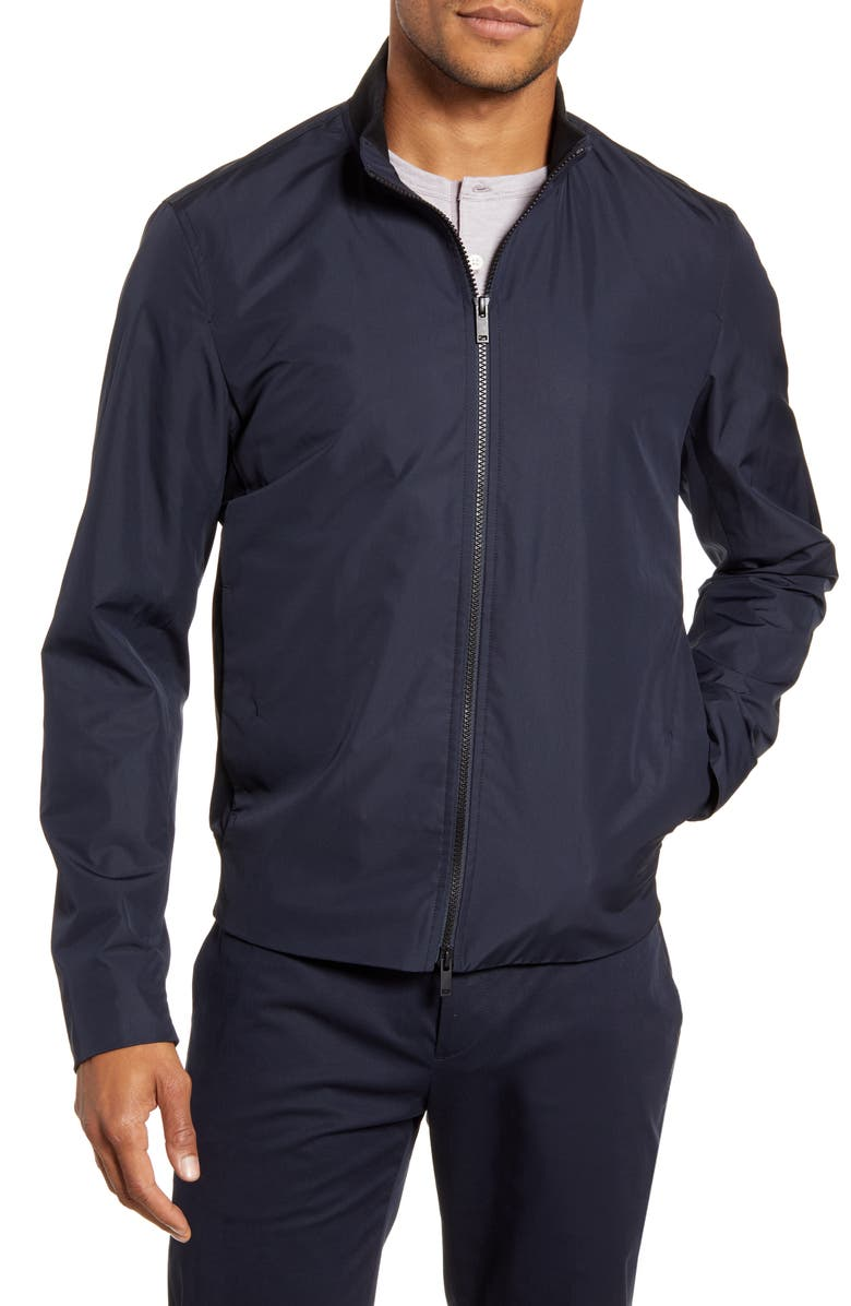 THEORY Lewis Packable Water Repellent Jacket, Main, color, ECLIPSE