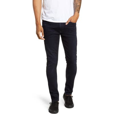 Paige Transcend Croft Skinny Fit Jeans, Blue