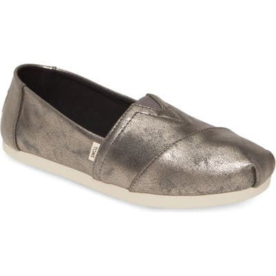 Toms Alpargata Slip-On, Metallic