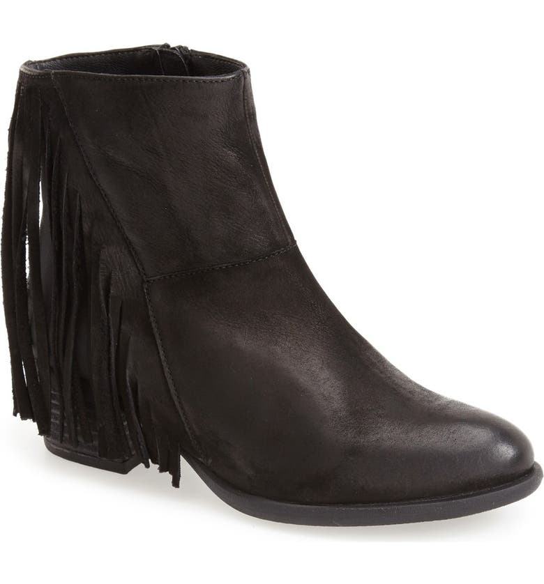 STEVEN NEW YORK Steven by Steve Madden 'Casidyy' Fringe Bootie, Main, color, 005
