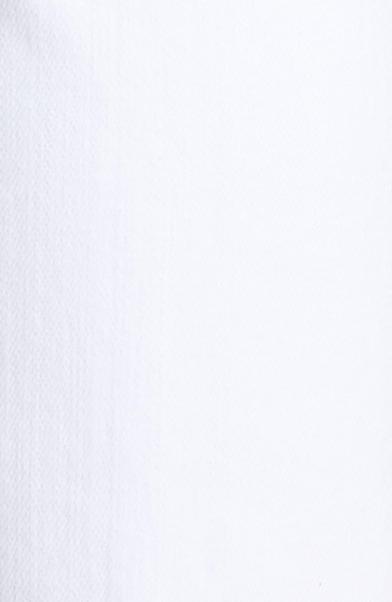 ,                             Elsa Crop Slim Jeans,                             Alternate thumbnail 6, color,                             OPTIC WHITE